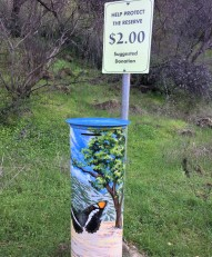 This is one of the ways the reserve is able to gain funding to help maintain it.