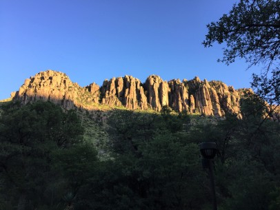 The rock formations of the Chiricahua Mtns were something none of us had ever seen before.