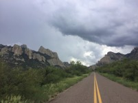 The entrance to Cave Creek Canyon was as epic as I remember.