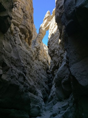 Parts of the canyon felt mysterious in some areas.